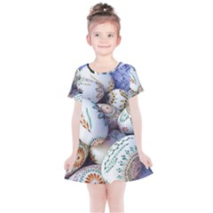 Model Color Traditional Kids  Simple Cotton Dress