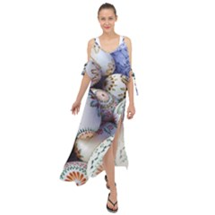 Model Color Traditional Maxi Chiffon Cover Up Dress