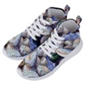 Model Color Traditional Women s Lightweight High Top Sneakers View2