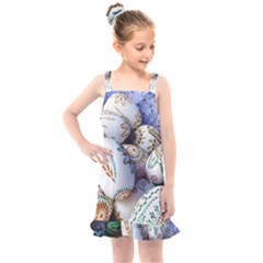 Model Color Traditional Kids  Overall Dress