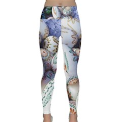 Model Color Traditional Lightweight Velour Classic Yoga Leggings