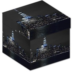 New York Skyline New York City Storage Stool 12