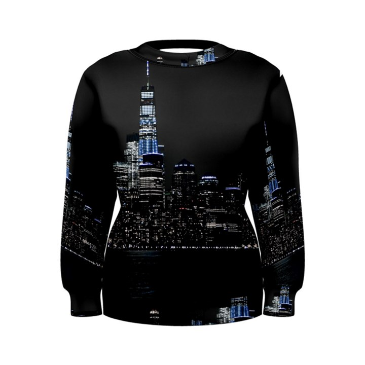 New York Skyline New York City Women s Sweatshirt