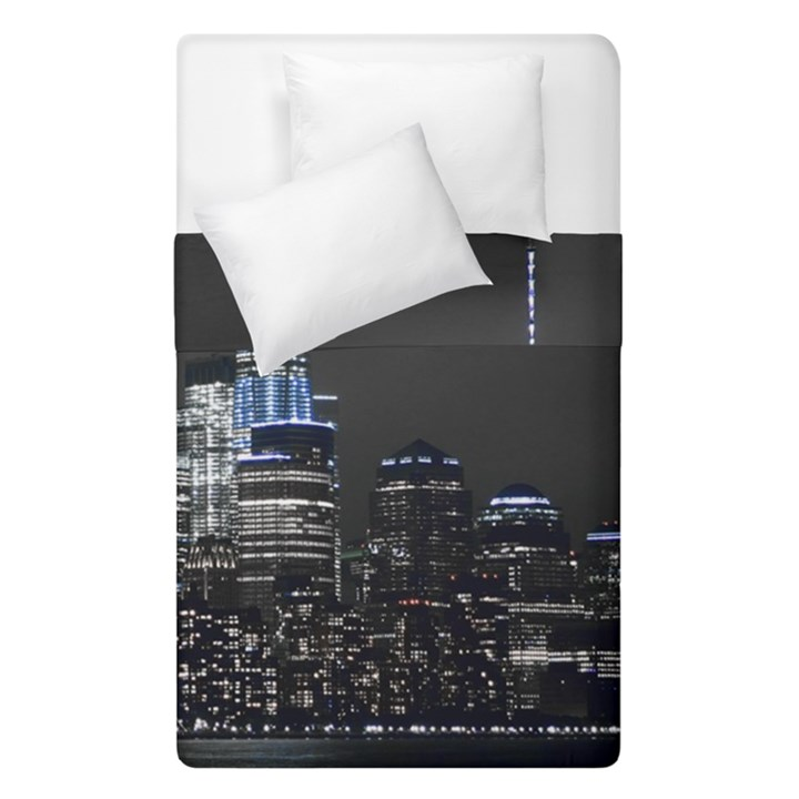 New York Skyline New York City Duvet Cover Double Side (Single Size)