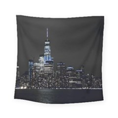 New York Skyline New York City Square Tapestry (small)