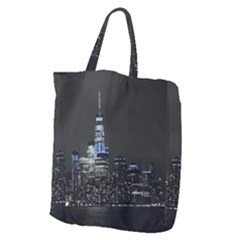 New York Skyline New York City Giant Grocery Tote