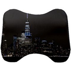 New York Skyline New York City Head Support Cushion