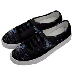 New York Skyline New York City Men s Classic Low Top Sneakers by Nexatart