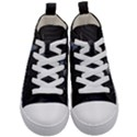 New York Skyline New York City Kid s Mid-Top Canvas Sneakers View1