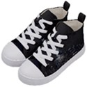 New York Skyline New York City Kid s Mid-Top Canvas Sneakers View2