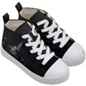 New York Skyline New York City Kid s Mid-Top Canvas Sneakers View3
