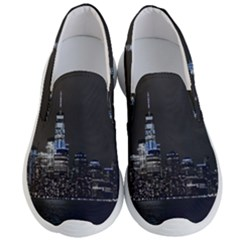 New York Skyline New York City Men s Lightweight Slip Ons by Nexatart