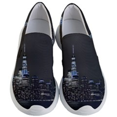 New York Skyline New York City Women s Lightweight Slip Ons by Nexatart