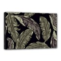 Jungle Leaves Tropical Pattern Canvas 18  x 12  (Stretched) View1