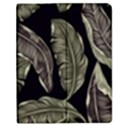 Jungle Leaves Tropical Pattern Apple iPad Mini Flip Case View1