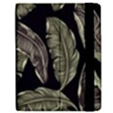 Jungle Leaves Tropical Pattern Apple iPad Mini Flip Case View2