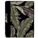 Jungle Leaves Tropical Pattern Apple iPad Mini Flip Case View3