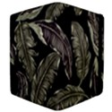 Jungle Leaves Tropical Pattern Apple iPad Mini Flip Case View4