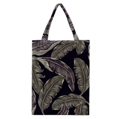 Jungle Leaves Tropical Pattern Classic Tote Bag