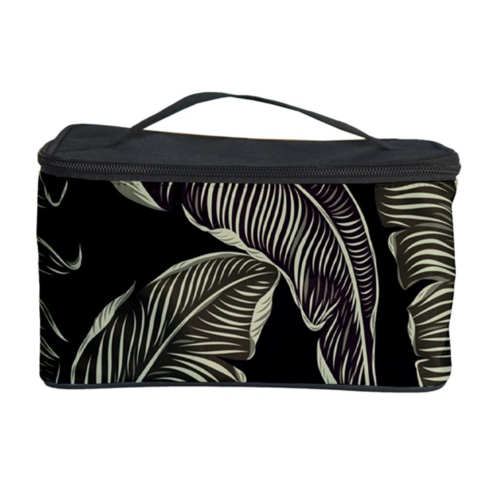 Jungle Leaves Tropical Pattern Cosmetic Storage