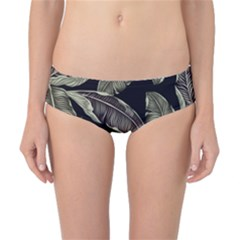 Jungle Leaves Tropical Pattern Classic Bikini Bottoms