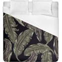 Jungle Leaves Tropical Pattern Duvet Cover (King Size) View1