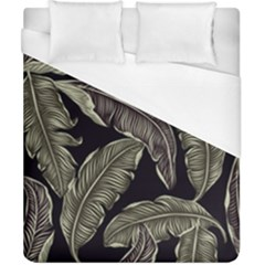 Jungle Leaves Tropical Pattern Duvet Cover (california King Size) by Nexatart