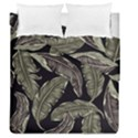 Jungle Leaves Tropical Pattern Duvet Cover Double Side (Queen Size) View1