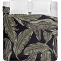 Jungle Leaves Tropical Pattern Duvet Cover Double Side (King Size) View1