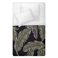 Jungle Leaves Tropical Pattern Duvet Cover (single Size)