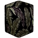 Jungle Leaves Tropical Pattern Apple iPad Pro 12.9   Flip Case View3