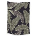Jungle Leaves Tropical Pattern Large Tapestry View1