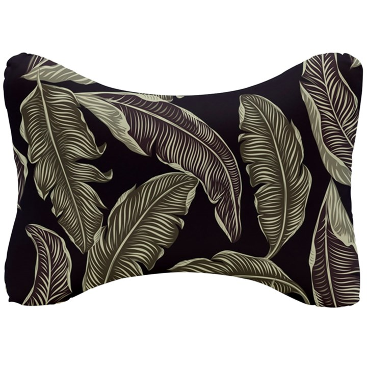 Jungle Leaves Tropical Pattern Seat Head Rest Cushion