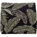 Jungle Leaves Tropical Pattern Seat Cushion View1