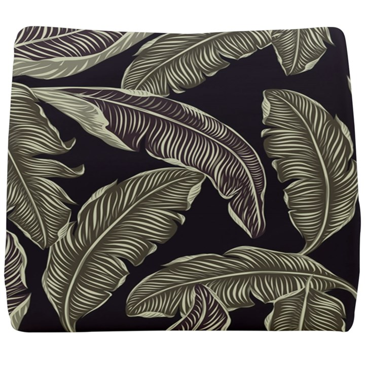 Jungle Leaves Tropical Pattern Seat Cushion