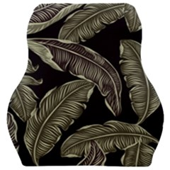 Jungle Leaves Tropical Pattern Car Seat Velour Cushion