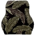 Jungle Leaves Tropical Pattern Car Seat Velour Cushion  View1