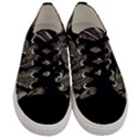 Jungle Leaves Tropical Pattern Men s Low Top Canvas Sneakers View1