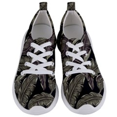 Jungle Leaves Tropical Pattern Women s Lightweight Sports Shoes