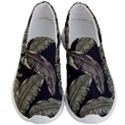 Jungle Leaves Tropical Pattern Men s Lightweight Slip Ons View1