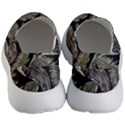 Jungle Leaves Tropical Pattern Men s Lightweight Slip Ons View4