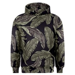 Jungle Leaves Tropical Pattern Men s Overhead Hoodie