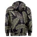 Jungle Leaves Tropical Pattern Men s Overhead Hoodie View2