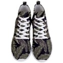 Jungle Leaves Tropical Pattern Men s Lightweight High Top Sneakers View1