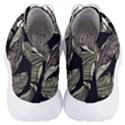 Jungle Leaves Tropical Pattern Men s Lightweight High Top Sneakers View4