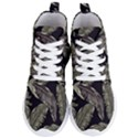 Jungle Leaves Tropical Pattern Women s Lightweight High Top Sneakers View1
