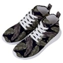 Jungle Leaves Tropical Pattern Women s Lightweight High Top Sneakers View2