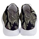Jungle Leaves Tropical Pattern Women s Lightweight High Top Sneakers View4