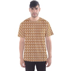 Gingerbread Christmas Men s Sports Mesh Tee