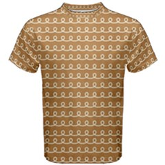 Gingerbread Christmas Men s Cotton Tee